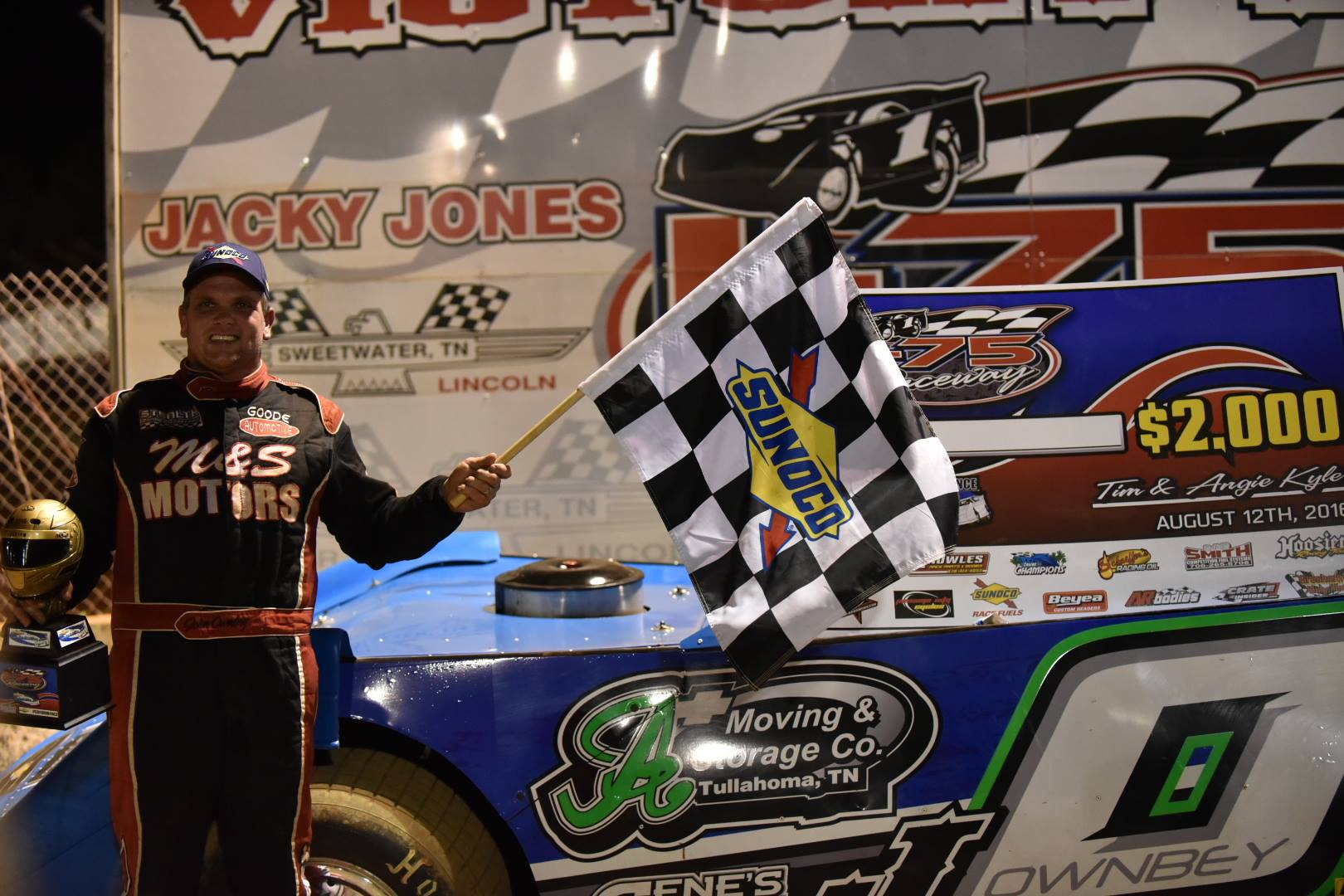 OWNBEY OWNS I-75 RACEWAY FOR FIRST CHEVY SUPER SERIES WIN OF