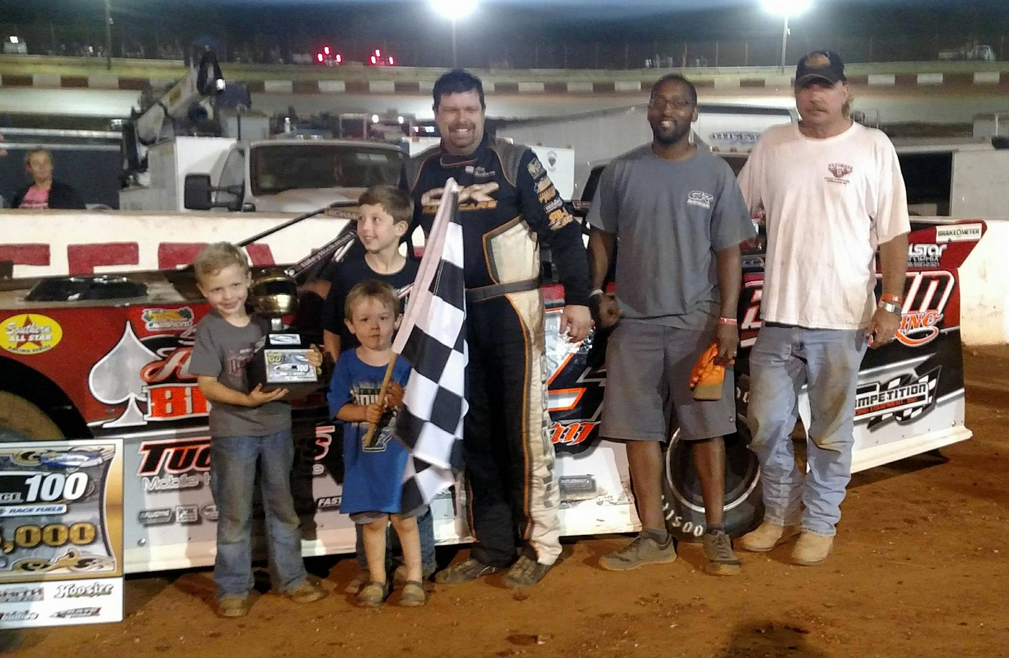 HICKMAN HUSTLES TO VICTORY IN CHEVROLET PERFORMANCE 100